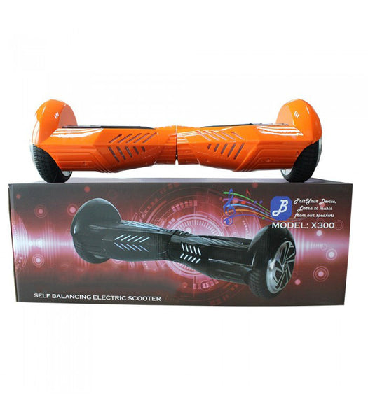Orange & Black Lambo Hoverboard with Bluetooth (Limited Edition)
