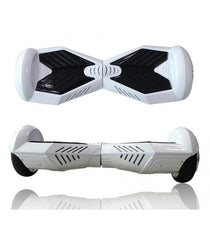 White & Black Lambo Hoverboard with Bluetooth (Limited Edition)