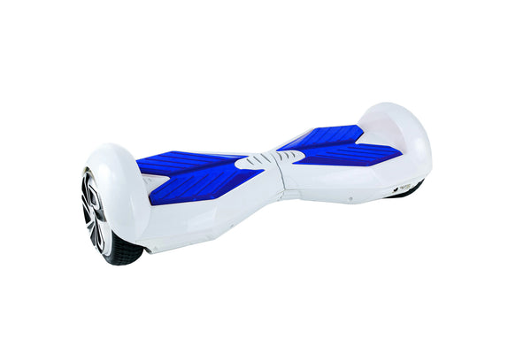 White/Blue Lambo Hoverboards Ultra X3 Lambo Hoverboard