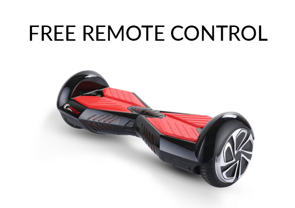 Lambo Hoverboard With Bluetooth (Black/Red)