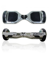 Silver Chrome Ultra X100 Standard Electric Hoverboard