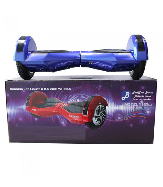 "XL 8.5"" Lambo Hoverboard w/LED's  (Blue)"