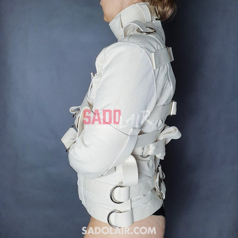 Bdsm Straitjacket Psycho Ultima Sadolair Collection