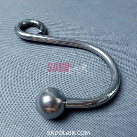 Solid Stainless Steel Anal Hook Sadolair Collection