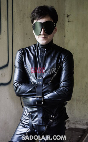 Strict Leather Straightjacket Sadolair Collection
