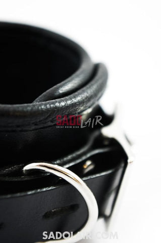 Leather Ankle Cuffs Sadolair Collection