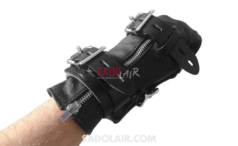 Extreme 3 Fingers Bondage Gloves Sadolair Collection