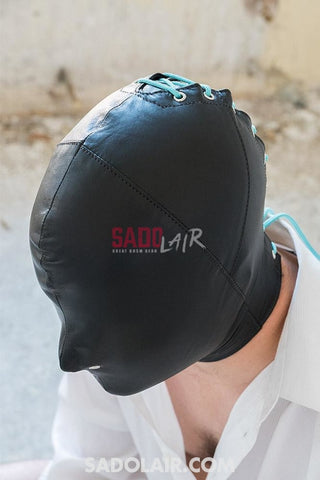 Leather Hood Nose Holes Sadolair Collection