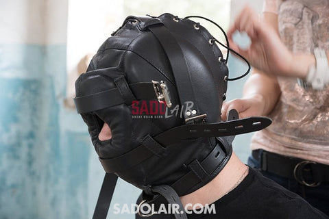 Deprivation Hood With Nose Hole Sadolair Collection
