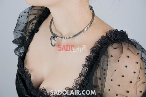 Wire Stainless Steel Collar Sadolair Collection