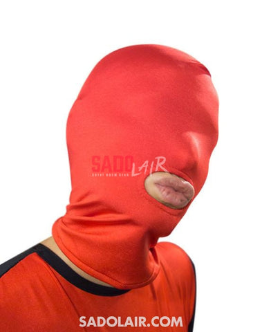 Universal Hood With Mouth Opening - Red