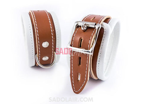 Luxurious Psycho Ii Ankle Cuffs Sadolair Collection