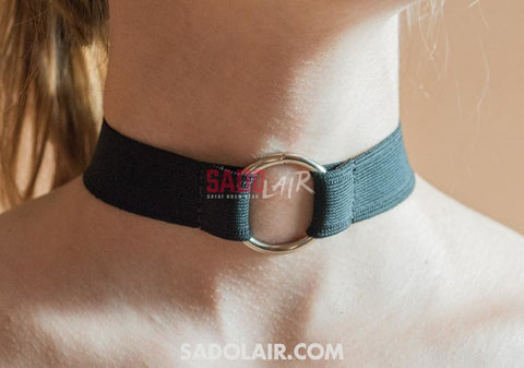 Elastic O Ring Collar Sadolair Collection
