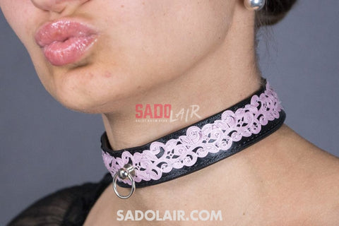 Leather Romantic Pink Ii. Sadolair Collection