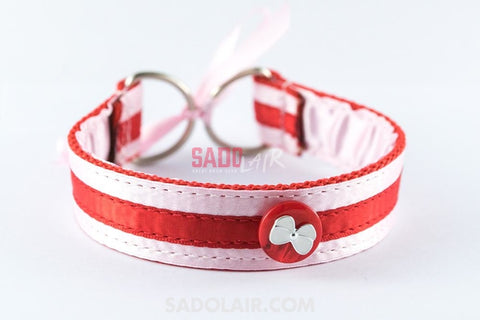 Collar For Sub X. - Red Sadolair Collection