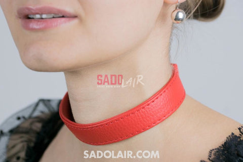 Classic Collar Red Sadolair Collection