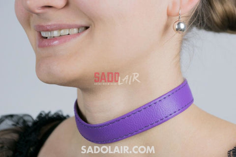 Classic Collar Purple Sadolair Collection