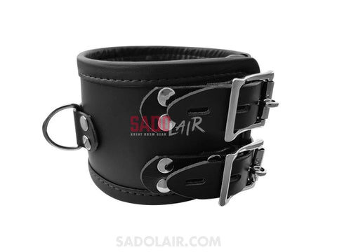 Wide Leather Collar Sadolair Collection