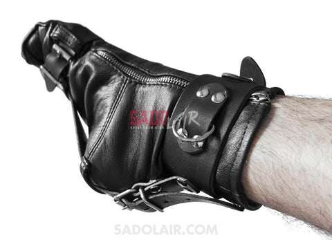 Bondage Leather Socks Sadolair Collection