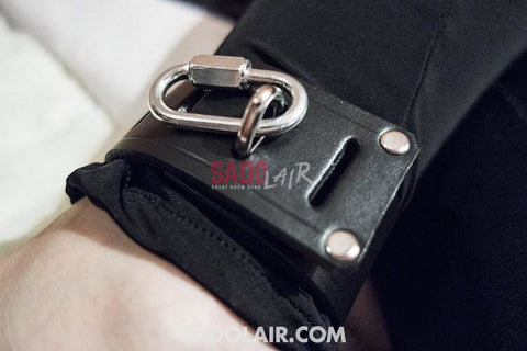 Leather Ankle Cuffs Simplex Sadolair Collection
