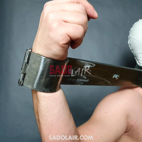 Solid Steel Pillory Wrists / Neck Sadolair Collection