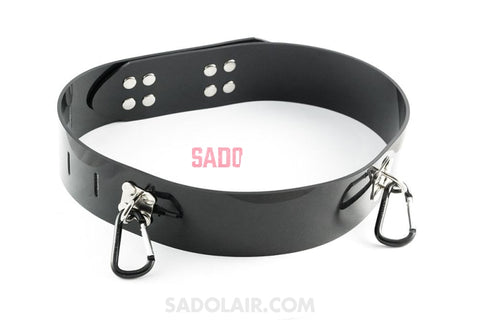 Lockable Bondage Belt Sadolair Collection