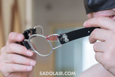 Stainless Mouth Gag Sadolair Collection