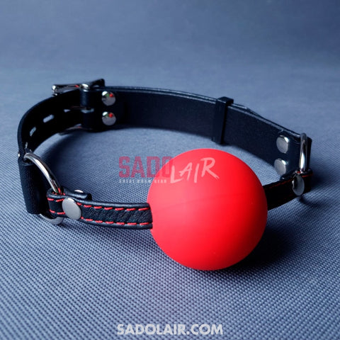 Leather Bdsm Gag Comfort Sadolair Collection