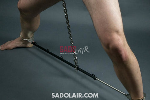 Adjustable Ankle Spreader Bar With Cuffs Sadolair Collection
