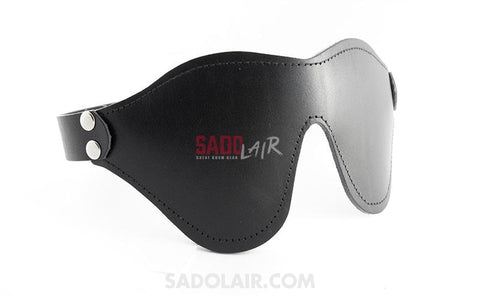 Leather Paddle Eyemask Sadolair Collection