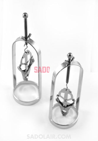Nipple Clamps For Massive Stretching