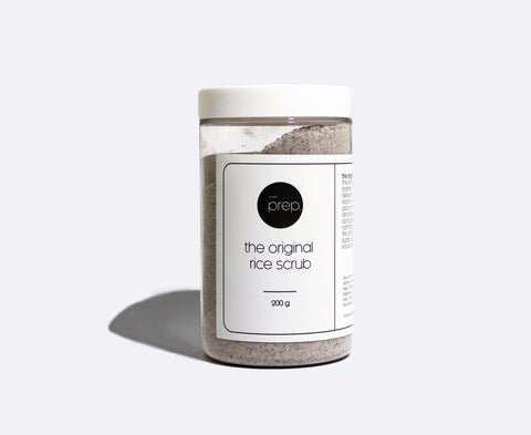 the original prep rice scrub 200g