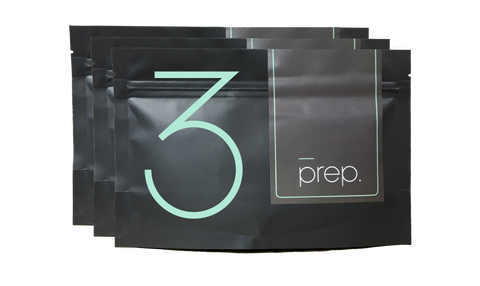 original prep bundle 200g x 3: REFILL PACK