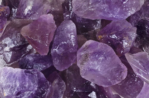 Amethyst Large Chunk Rough Stones from Brazil - Grade 2