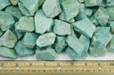 Amazonite Mine Run Rough - Madagascar