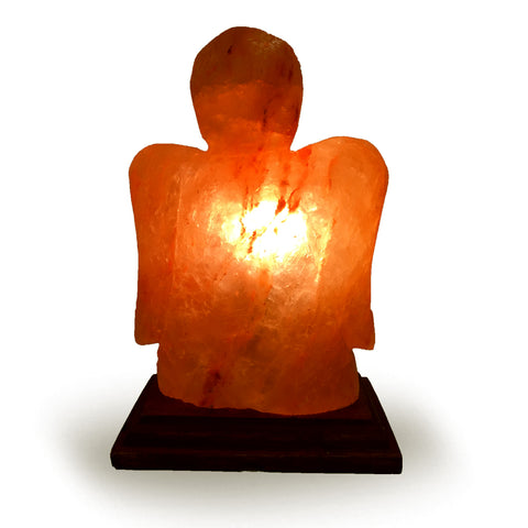 Natural Himalayan Angel Shape Salt Lamp