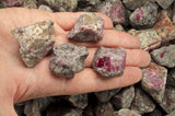 Ruby in Quartz Rough