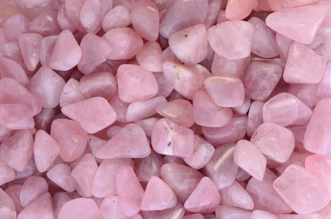 Tumbled Rose Quartz
