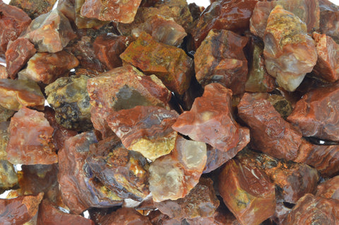 Fire Horizon Rough Stones from Mexico