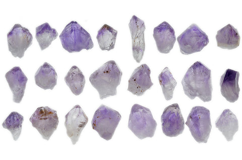 Light Amethyst Points from Brazil