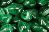 Tumbled Malachite Stones from Zaire