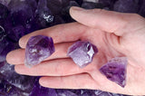 Amethyst Premium Grade Rough from Brazil - 'AAA' Grade Semi Point
