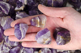 Banded Chevron Amethyst Mine Run Rough