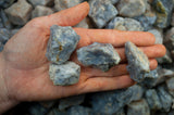 Blue Quartz Mine Run Rough - Madagascar