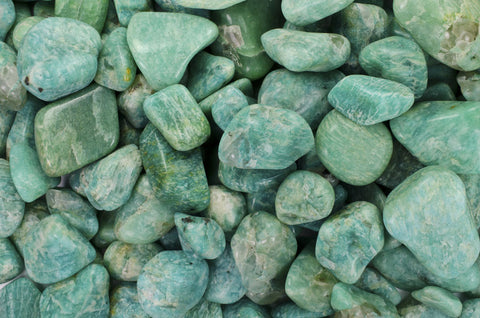 "Tumbled Amazonite - ""AA"" Grade"