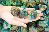 "Chrysocolla Rough ""AA"" Grade Stones from Peru"