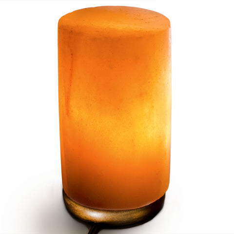 Natural Himalayan Cyndilar Shape Salt Lamp