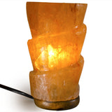 Natural Himalayan Funnel Shape Salt Lamp.