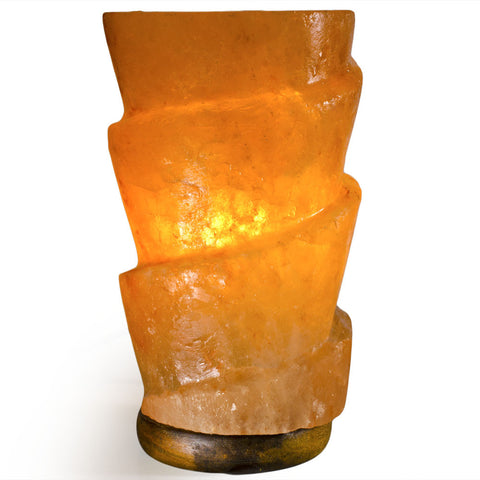 Natural Himalayan Funnel Shape Salt Lamp