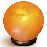Natural Himalayan Globe Salt Lamp